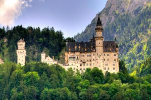 Castle Neuschwanstein by Jogi1960