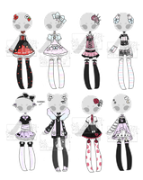 +Outfit Adoptable Mix 57 [CLOSED] (0/8)+ by Hunibi