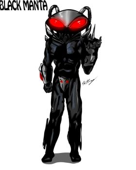 Black Manta by KrisGBeanie