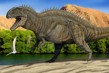 Acrocanthosaurus by DiBgd