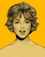 Marilyn in Gold by SimonPovey