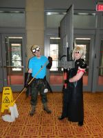 Cid Highwind Cloud Strife Zenkaikon 2015 by bumac