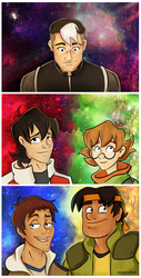 Form Voltron by reaperfox