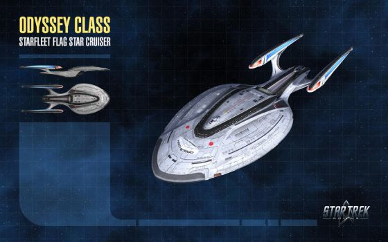 Odyssey Class Starship for Star Trek Online by thomasthecat