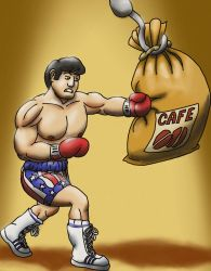 COFFE AND MOVIES, ROCKY by Luber-Lord