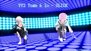 [MMD] VY2 Yuma and Io - GLIDE + DL by LeeTaemin97