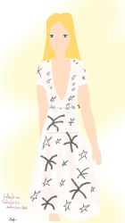 Valentino fashion drawing week by Sophquipeux