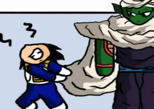 + Vegeta_and_Piccolo. + by DBpictures