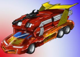 Rodimus Prime Redesign 1 by Johnny216