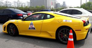 Korea Track Day : Yellow Modena Exotic by toyonda