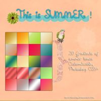 This is summer 20 GRADIENTS by sellyourhate