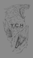 Sketchpage YCH Auction [CLOSED] by Blacknemera