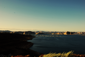 Lake Powell View by Origami-Arts