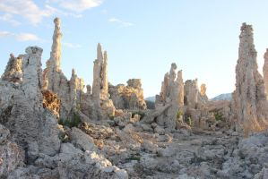Stock: Tufa Sunset 2 by PapayaPirate