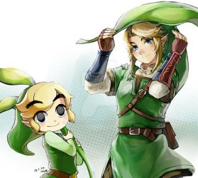 TP, Toon link by muse-kr