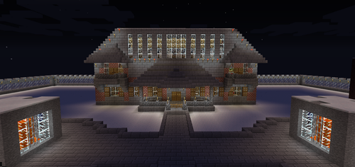 Minecraft The Mansion up date by seth243