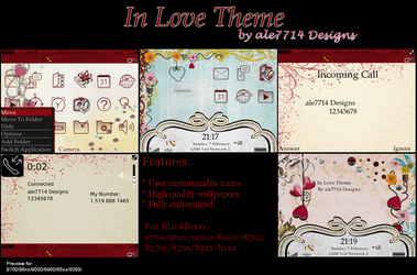 In Love Theme for BlackBerry by ale7714