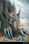 ACEO - Khaosdog by olvice