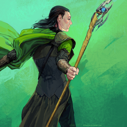 god of mischief by littleulvar