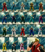 SFV Fusion Set Ken by monkeygigabuster