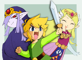Zelda: Minish Cap by midwaymilly