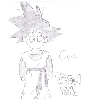 Child Goku - Goten by Capn-x-Chaos