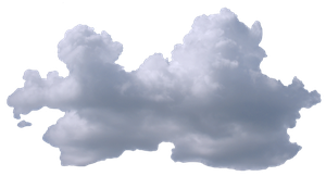 Wide Puffy Cloud V3 by TheStockWarehouse