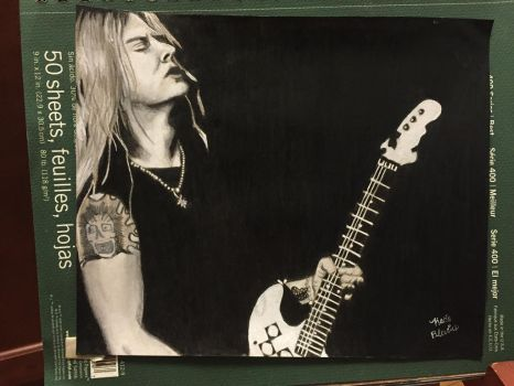 Jerry Cantrell by KeitimariArt