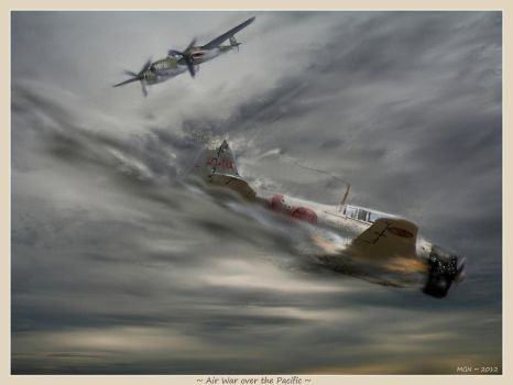 Air War over the Pacific by zulumike