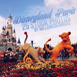 Disneyland Paris Stock Pack #2 by millioncolours92 by millioncolours92