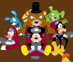 Mickey's Five Nights At Freddy's by NintendoLand118