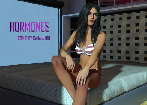 Hormones (Comic Cover) by CAHunk100