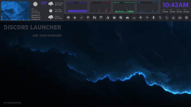 DiscordLauncher v57 and Task Manager by ari4672