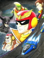 F-zero - Trial by Night by KaizokuShojo