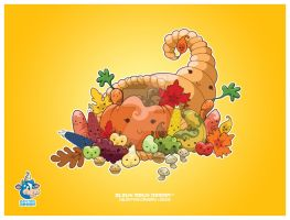 Kawaii Cornucopia by KawaiiUniverseStudio