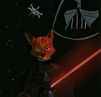 Crossover zootropolis and star wars by SarahTheFox97