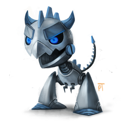 DAY 456. Robot Monster by Cryptid-Creations