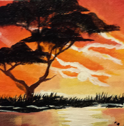 African Sunset by Bumblebeeredhead97