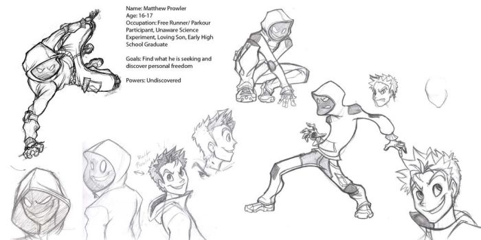 Temp Matt Prowler Ref Sheet by Megaman1988