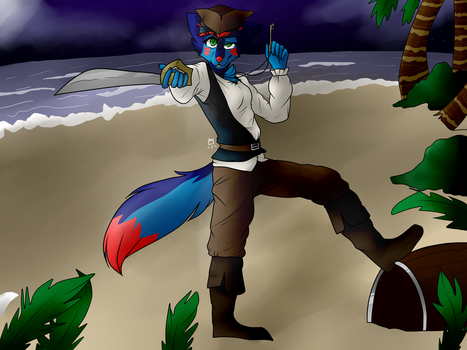 Commission Fullbody Pirate Ky by ydartoxx