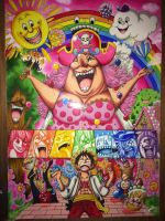 One Piece - Tome 83's Cover (Size A1). by LoLoOw