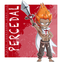 [Chibi Countdown - Day 11] Percedal by RiikoChick
