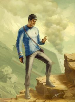 StarTrek. Mr. Spock by Nikki-67
