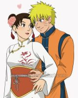NaruTen: Seeing Only You (Close-up) by JuPMod