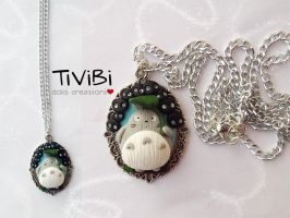 New Ghibli necklace by tivibi