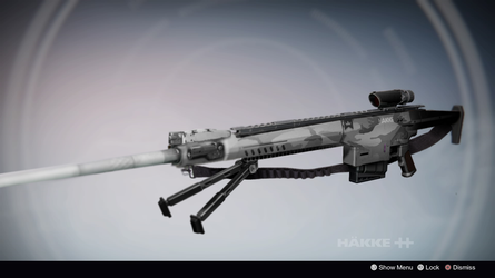 The Dead End: Sniper Rifle Concept by McMurph Taco by DestinyWarlock