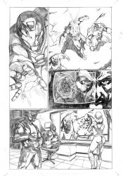 avengers assemble samples pages 3 by Geniss