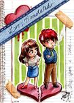 Free Chibi: Love, Annotated by LOOMcomics