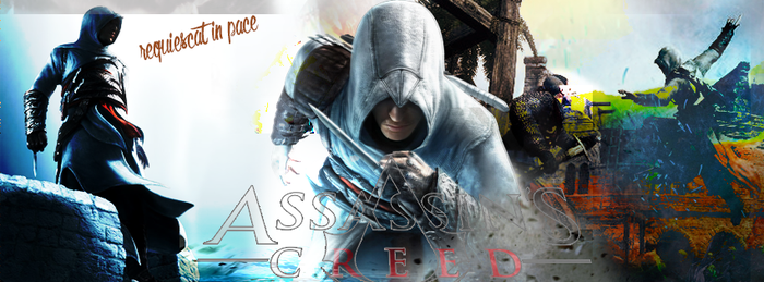 Assassins creed - Facebook time line cover by Plafki