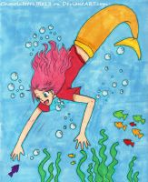 Diving In by Anto-the-Artist